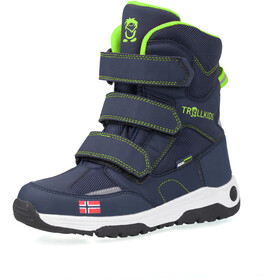 TROLLKIDS Lofoten Winter Boots Kids, navy/viper green